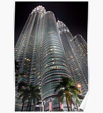 Petronas Towers KLCC Poster