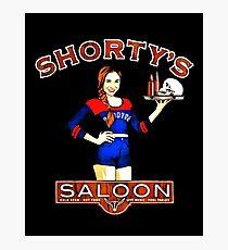 Wynonna earp Shorty's Saloon Photographic Print