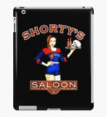 Wynonna earp Shorty's Saloon iPad Case/Skin
