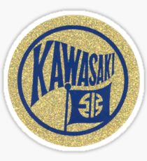 Kawasaki Glitter DECAL Sticker
