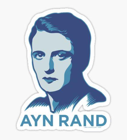 Ayn Rand Sticker