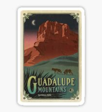 Guadalupe Mountains National Park Texas, USA Travel Decal Sticker