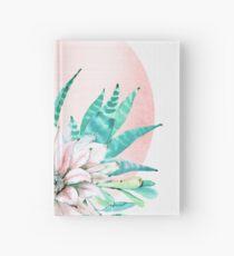 Trendy Sukkulenten Rose Pink und grün Wüste Sukkulenten südwestlichen Dekor Notizbuch