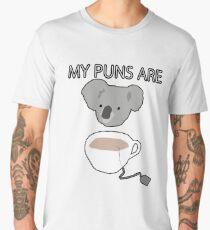 """""""Koala Tea"""" puns Men's Premium T-Shirt"""