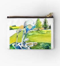 Golf series - Great anticipation Studio Pouch
