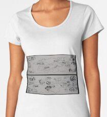 Maps                                           Women's Premium T-Shirt