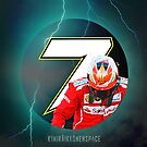 Kimi Raikkonen 7 - Phone Case 2015 by evenstarsaima