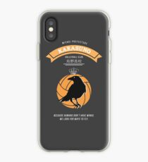 Karasuno Crest (light) iPhone Case