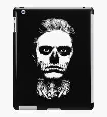 a scary skull women iPad Case/Skin