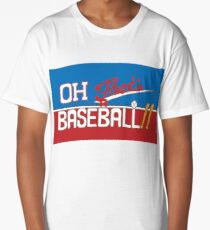 Oh! That's a Baseball!! JJBA Jojo's Bizarre Adventure Long T-Shirt