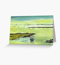 The Boat 2 Greeting Card