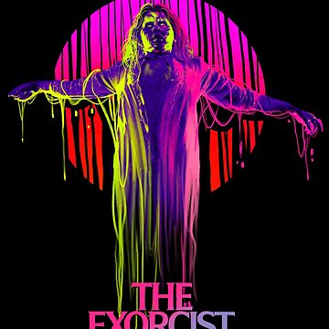 The Exorcist Neon by Gerkyart