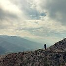Pacific Crest Trail - Overlooking Cleghorn Road by Kerstin La Cross