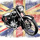 Classic BSA Motorcycle by Patjila by patjila