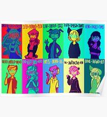 Misfits - NCWF S1 - S3 Poster