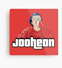 Jooheon | GTA Metal Print