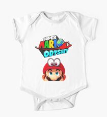 Mario Odyssey One Piece - Short Sleeve