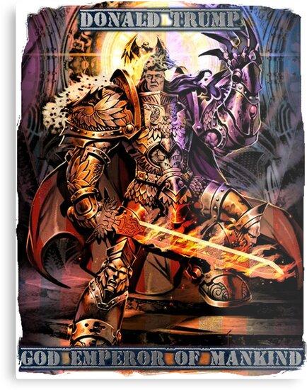 God Emperor Trump - MAGA GOD Edition by ivolver