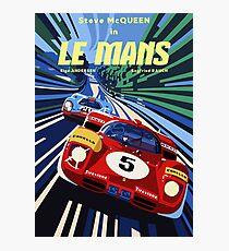 Poster Le Mans Photographic Print