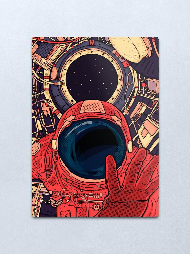 Alternate view of  Intergalactic Metal Print