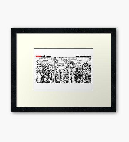 BubbleWorld Volume 1 Framed Print