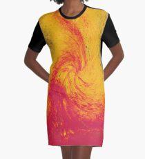 Pele's Fire Graphic T-Shirt Dress