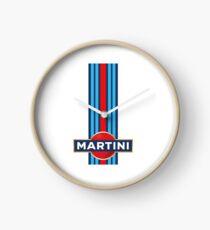 Martini Racing Clock