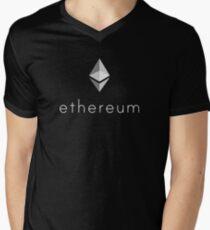 Ethereum Logo Men's V-Neck T-Shirt