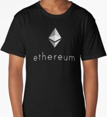 Ethereum Logo Long T-Shirt