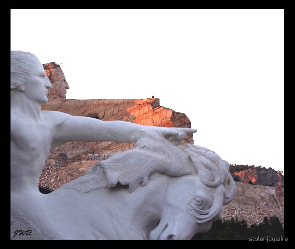 Chief Crazy Horse by stolenjagwire