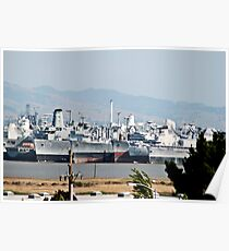 The Suisun Bay Reserve Fleet, or Mothball Fleet 2 Poster