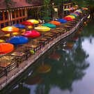 Morning on the San Antonio Riverwalk by Gregory Ballos