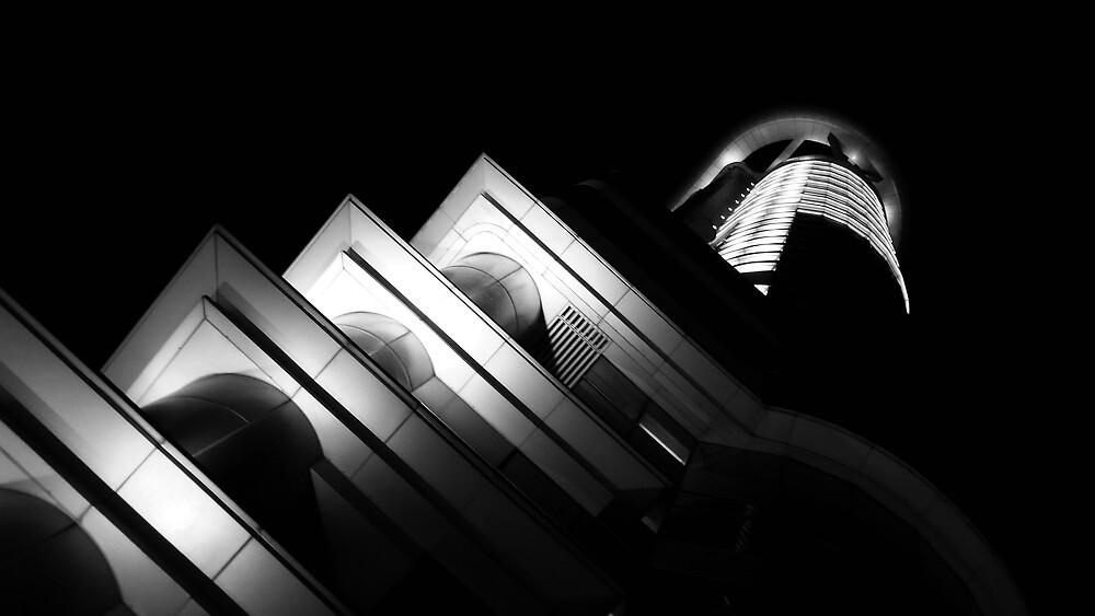 Langham Place by night by ragman