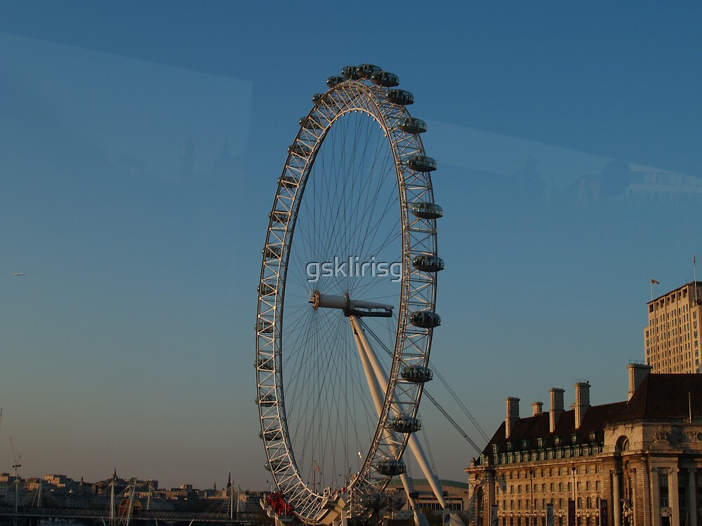 London eye by gsklirisg