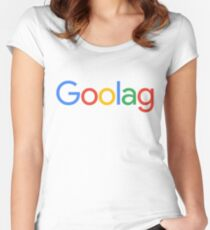 Goolag Women's Fitted Scoop T-Shirt