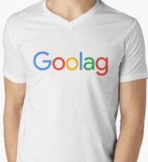 Goolag Men's V-Neck T-Shirt