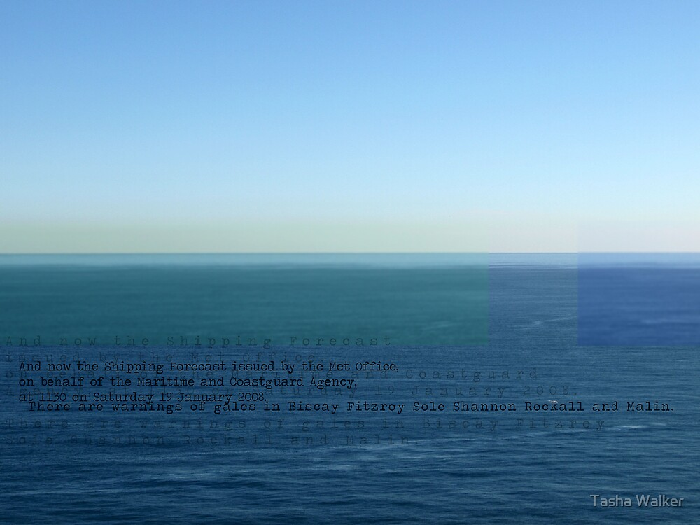 The Shipping Forecast by Tasha Walker