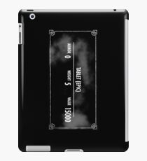 Valuable Items iPad Case/Skin