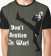 Fawlty Towers - Dont Mention The War Graphic T-Shirt