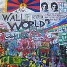 peace wall 1 by Vincent Loverso