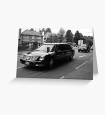 President's Motorcade Greeting Card