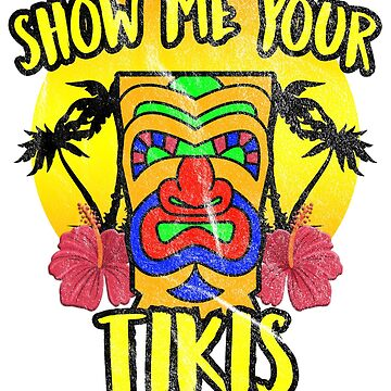 Show Me Your Tikis - Tiki Mug Bar by ItsMyParty
