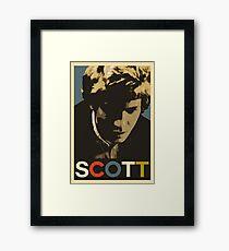 Scott Walker Framed Print