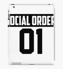 Social Order Pouches, Laptop Skins & Sleeves iPad Case/Skin