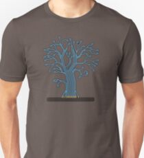 Tree made up of circuits T-Shirt