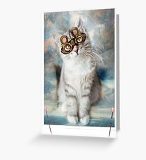 Cat-viator Greeting Card