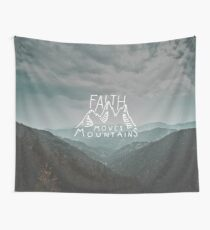 Faith Quote Wall Tapestry