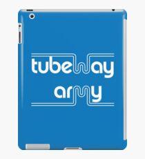 Tubeway Army 'blue' logo design iPad Case/Skin