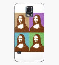 Scrabble Mona Lisa x 4 Case/Skin for Samsung Galaxy