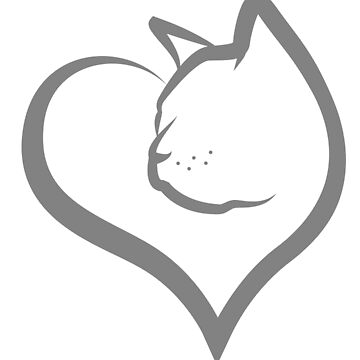 Cat Heart by graphicgeoff
